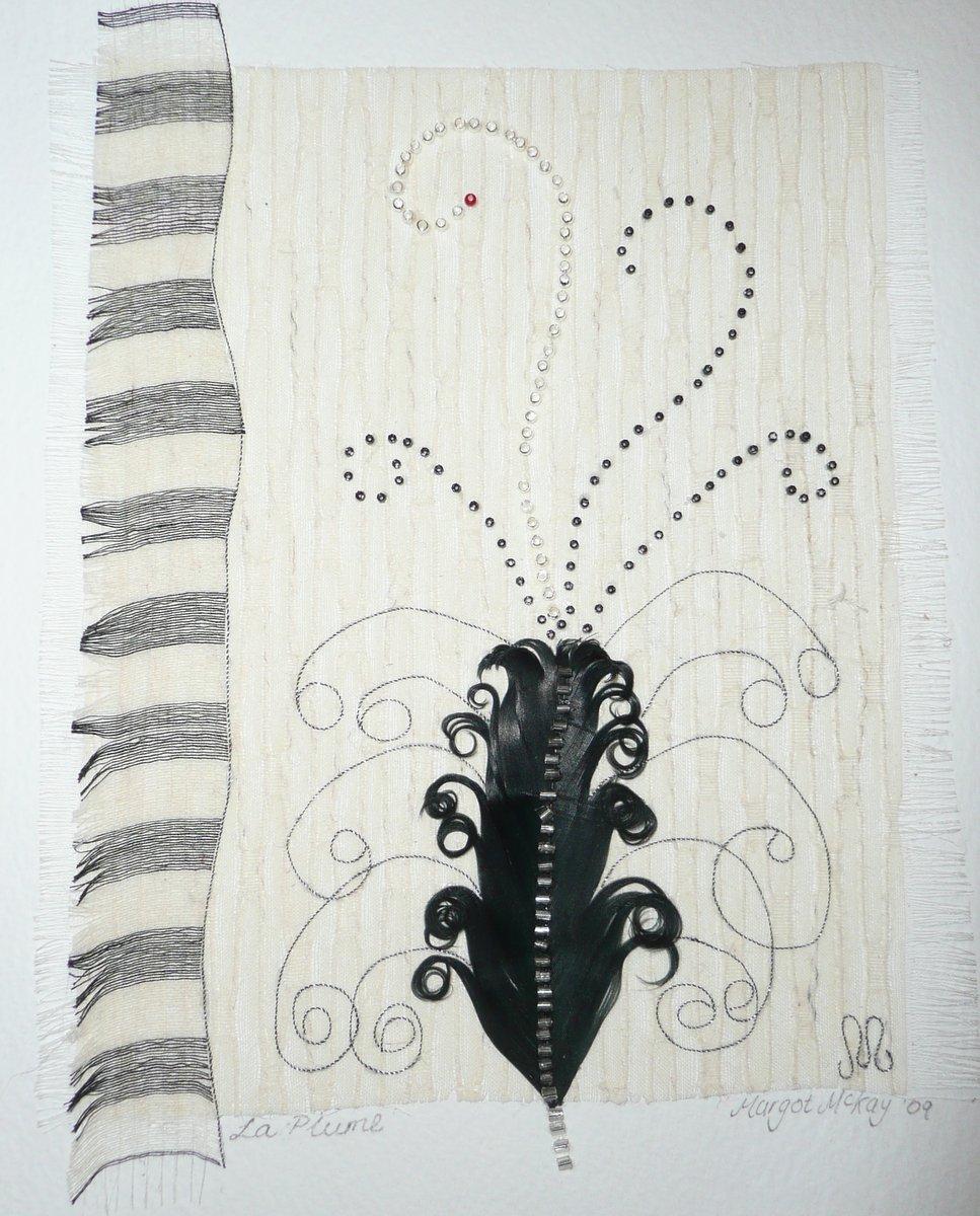 Artwork - black plume P1020650