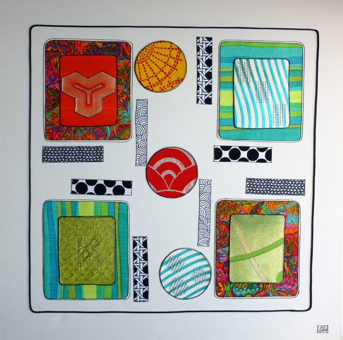 Artwork - geometric shapes P1010375