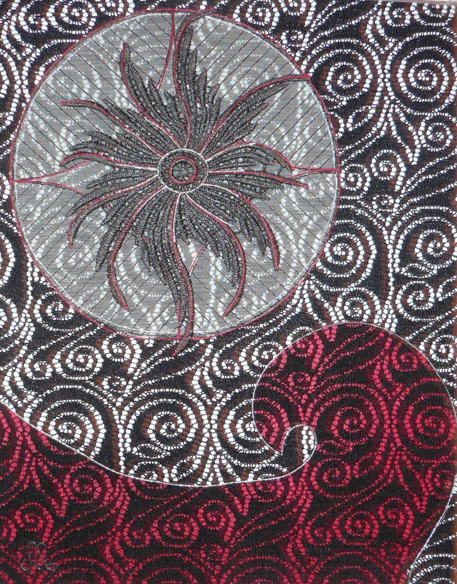 Artwork - pink & brown P1050163