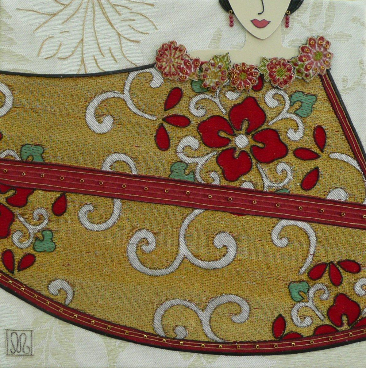 Artwork - red girl P1020924