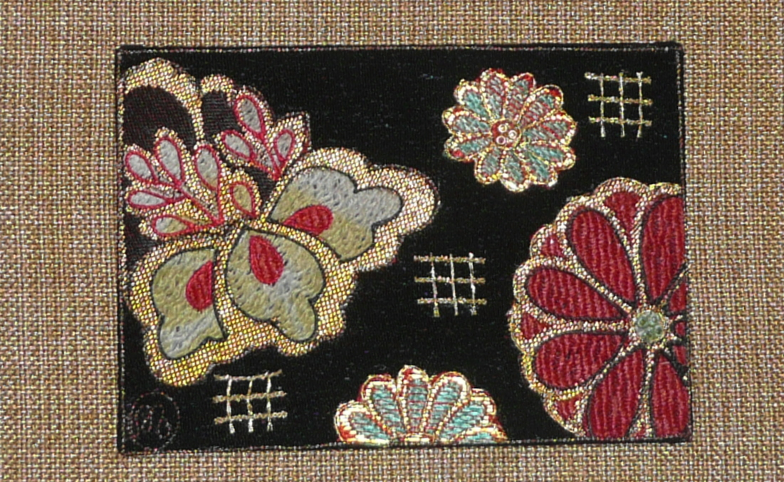 Artwork - beaded flower P1050158